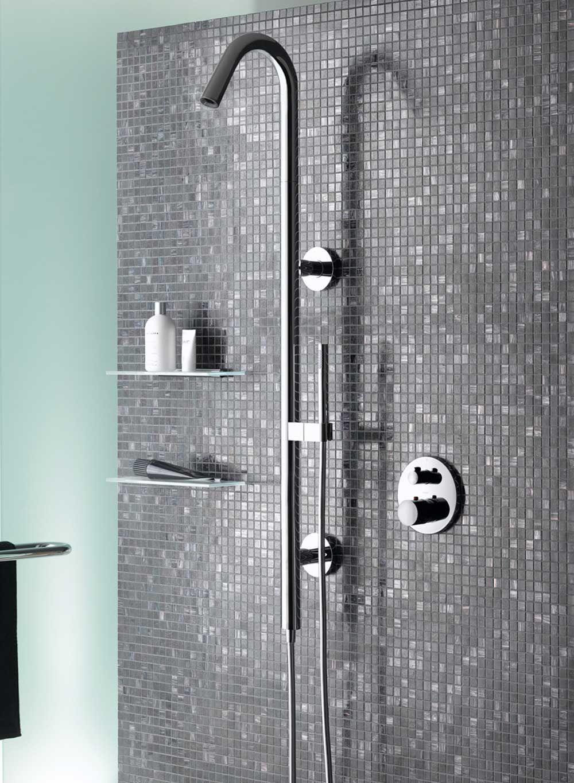 Bathroom Accessories Shower bathroom shower panel systems. mcelmo chrome finish massage shower