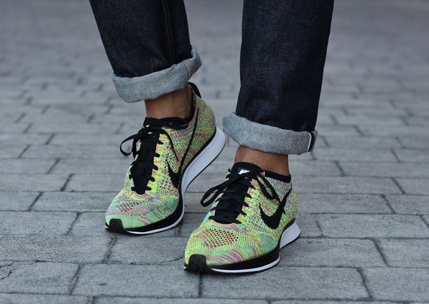 new style a9155 f60e8 Nike Flyknit Racer