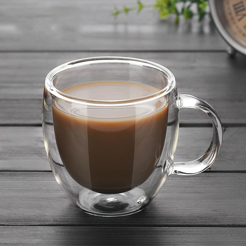 90ml Double Insulation Glass Coffee Mug In 2020 Glass Coffee