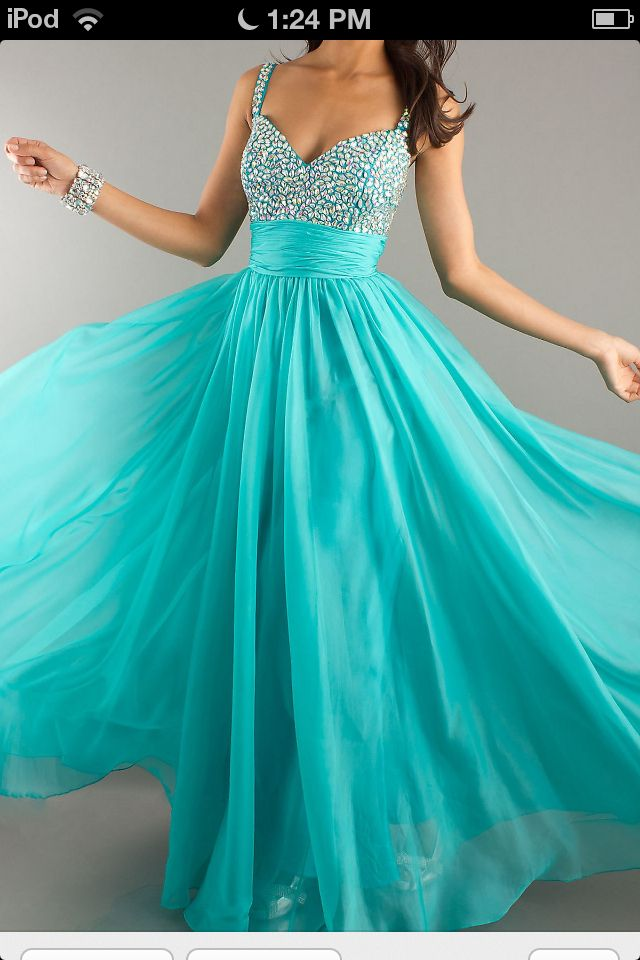 sweet 16 dress! In a different color maybe | Vestidos aguamarina ...