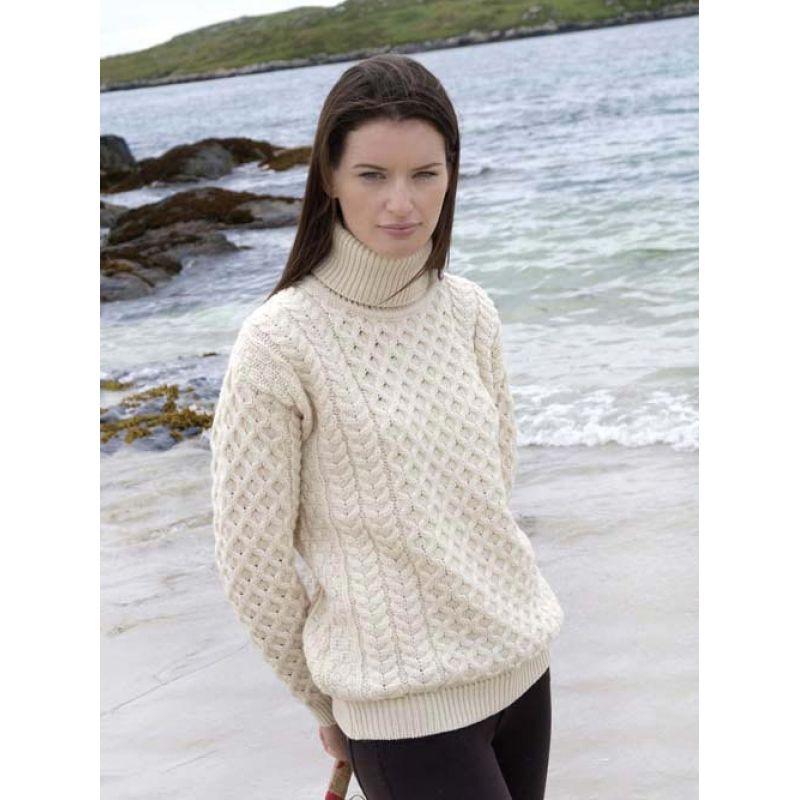 Merino Wool Turtleneck Sweater | mis tejidos favoritos, crochet and ...