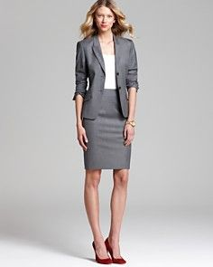 029e86007 Bloomingdales - BOSS Jacket & Skirt | Work Attire - Professional ...