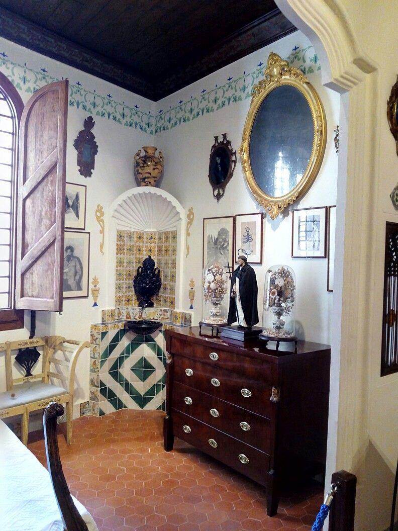 cau ferrat sitges y la casa de santiago rusinol decorar con cuadros y espejos para decorar sitges cau ferrat