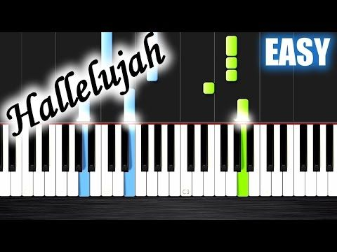Hallelujah Slow Easy Piano Tutorial By Plutax Youtube With