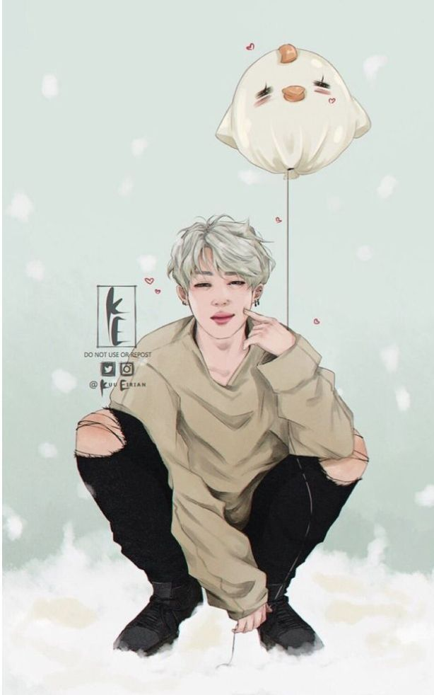Photo of BTS Imagines & Reactions – BTS -Jimin Fanart-