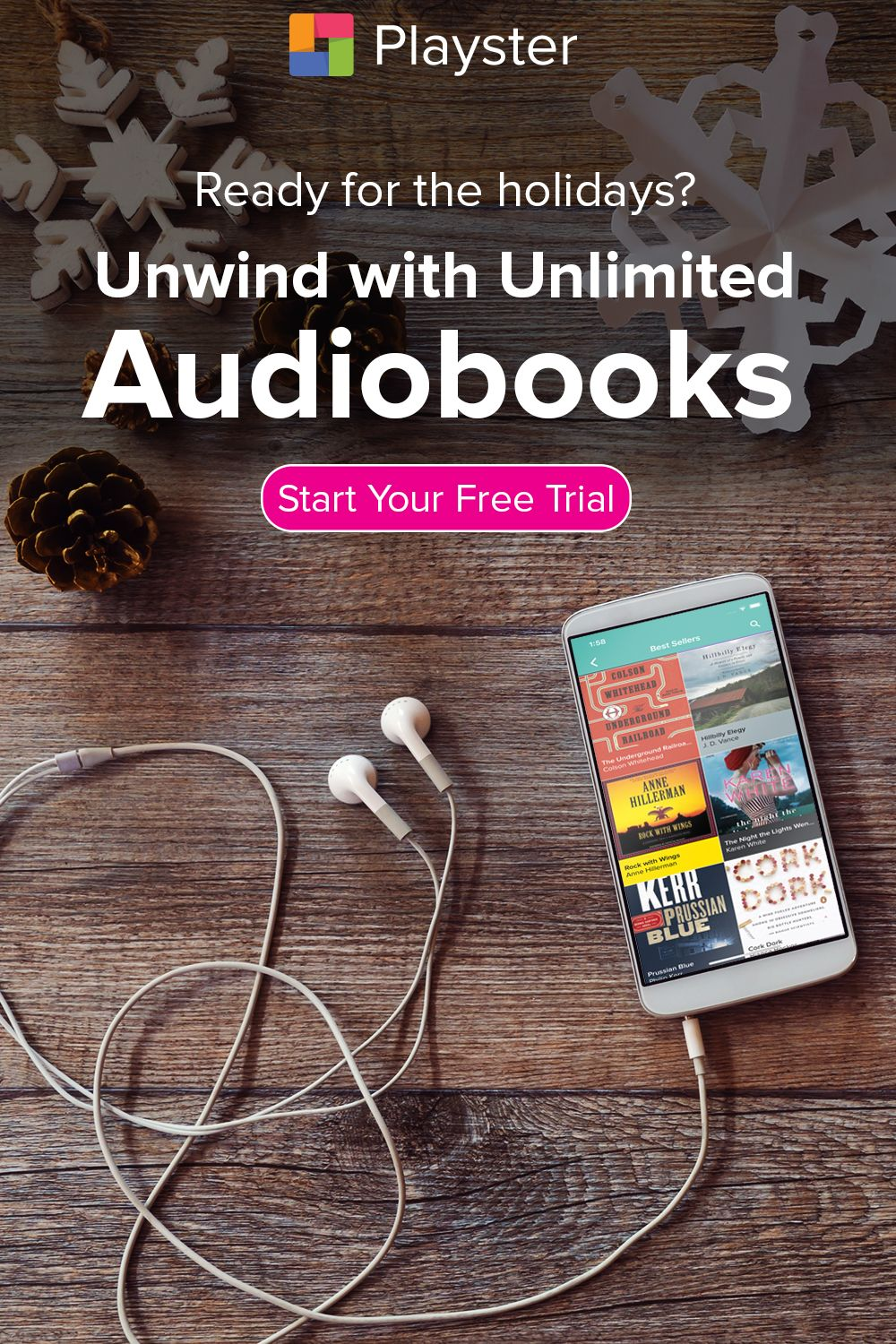 Get unlimited access to 100000 audiobooks including