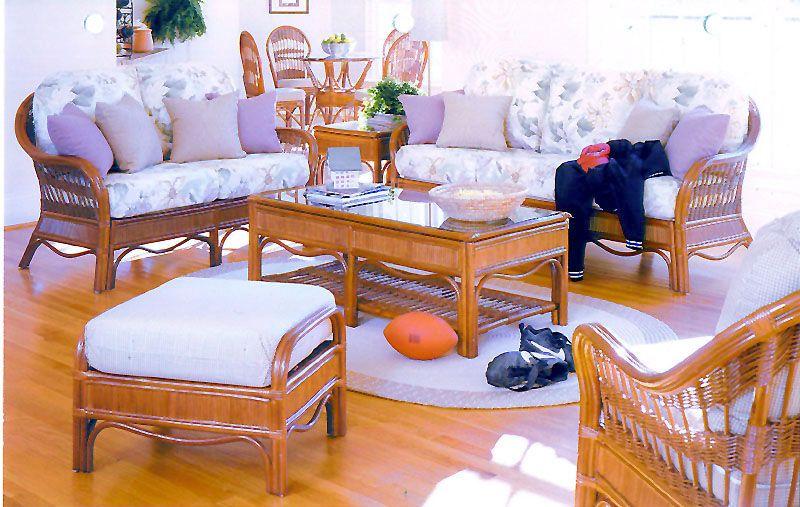 Enjoyable Bermuda Wicker Sunroom And Rattan Living Room Furniture Machost Co Dining Chair Design Ideas Machostcouk