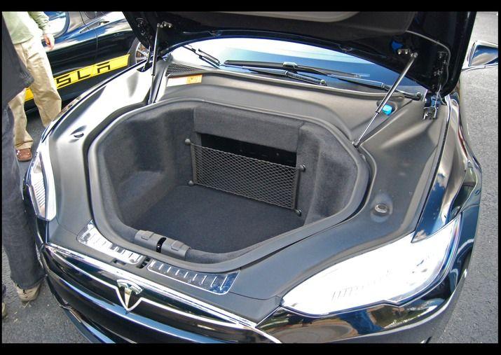 Tesla Model S Front Trunk Frunk