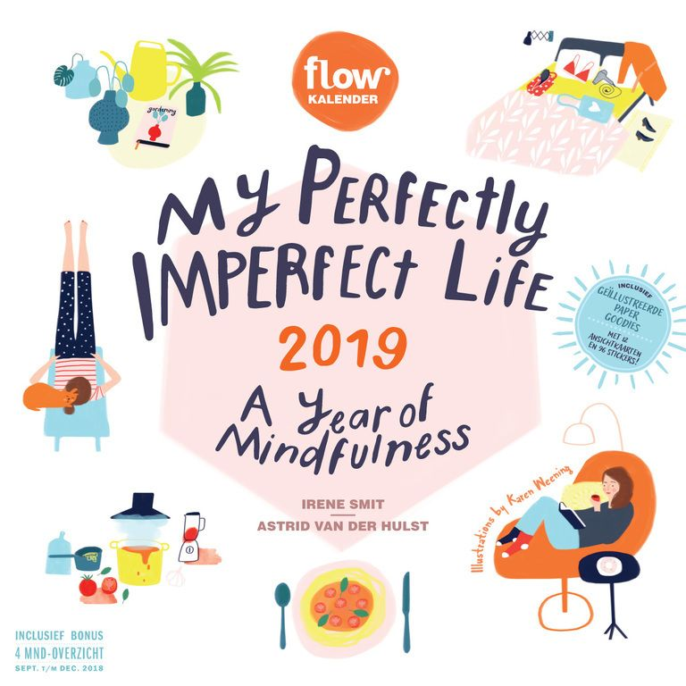 My Perfectly Imperfect Life 2019 calendar Hygge Pinterest
