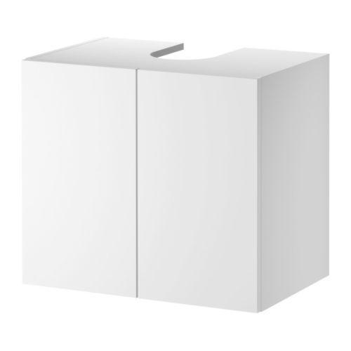 LILLÅNGEN Waschbeckenunterschrank, 2 Türen, weiß ... | {Waschbeckenunterschrank ikea 29}
