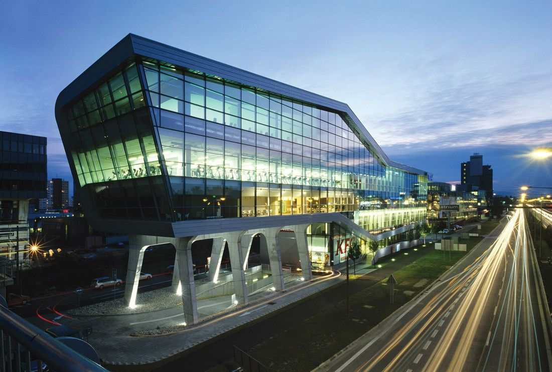 Relaxx Sport And Leisure Center Architecture Glass Facades Facade