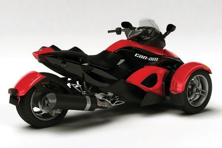 can-am spyder motorcycle. | turn your dreams to reality and make