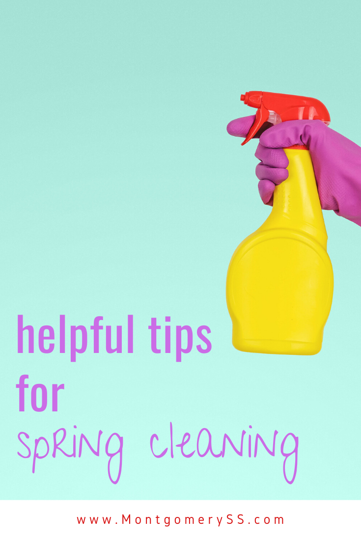 Helpful Tips For Spring Cleaning In 2020 Spring Cleaning Self Storage Helpful Hints