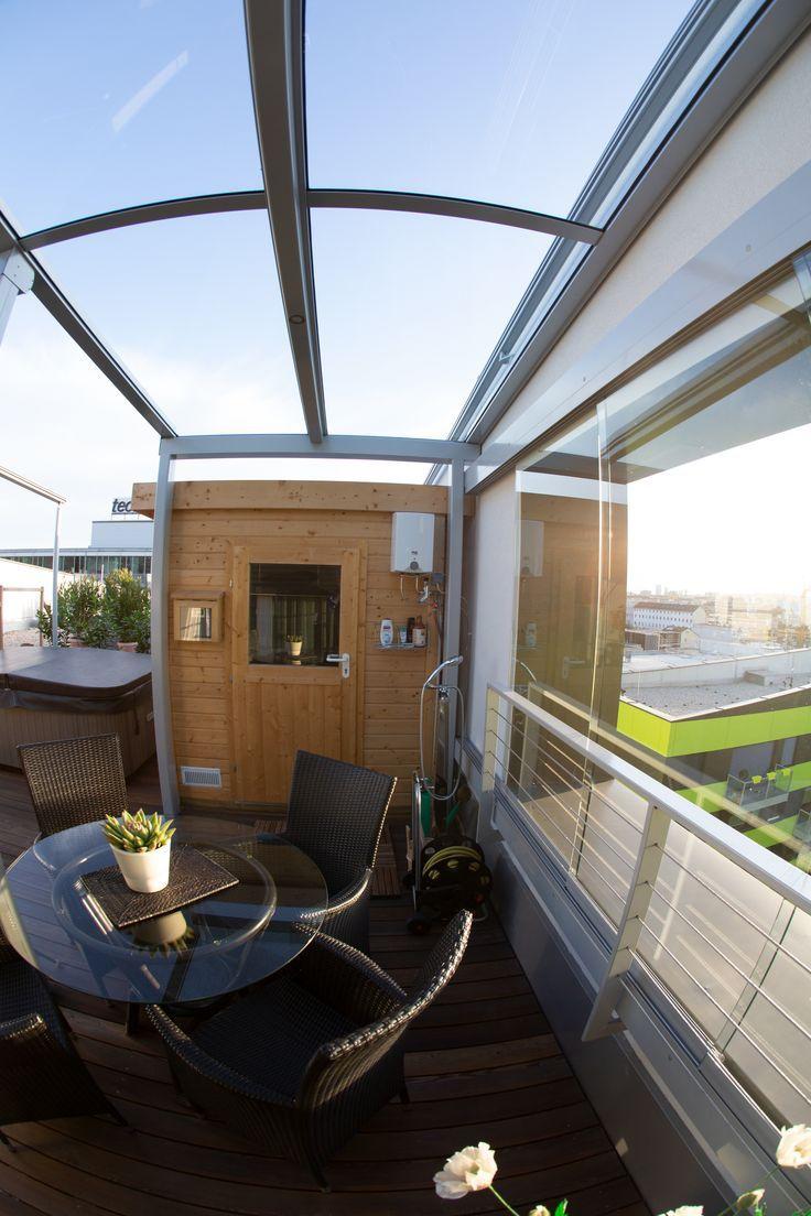 Seitlicher Wetterschutz Fur Terrasse Wohnen Outdoor Pinterest