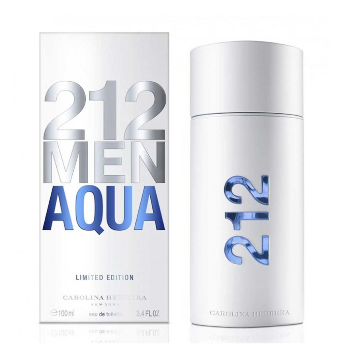 Carolina Herrera 212 Men Aqua Eau De Toilette Para Homem