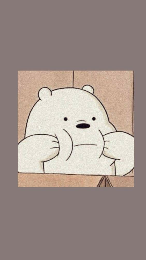 We Bare Bear Bear Wallpaper We Bare Bears Wallpapers Cartoon Wallpaper