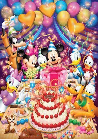 Pin By Niaz On Birthdays Happy Birthday Disney Mickey Mouse