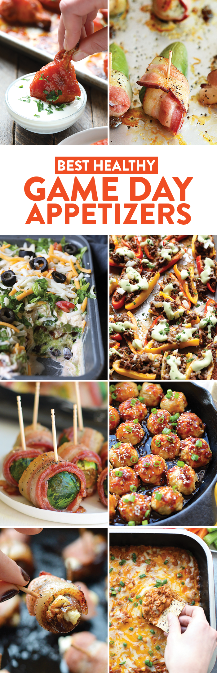 Game Day Appetizers that are healthy! - Fit Foodie Finds