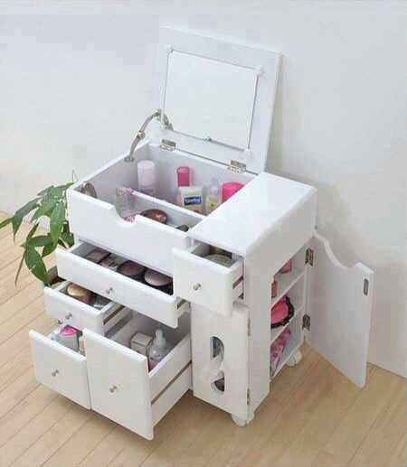 Rolling Makeup Caddy How Cool I Would Love A Smaller Version