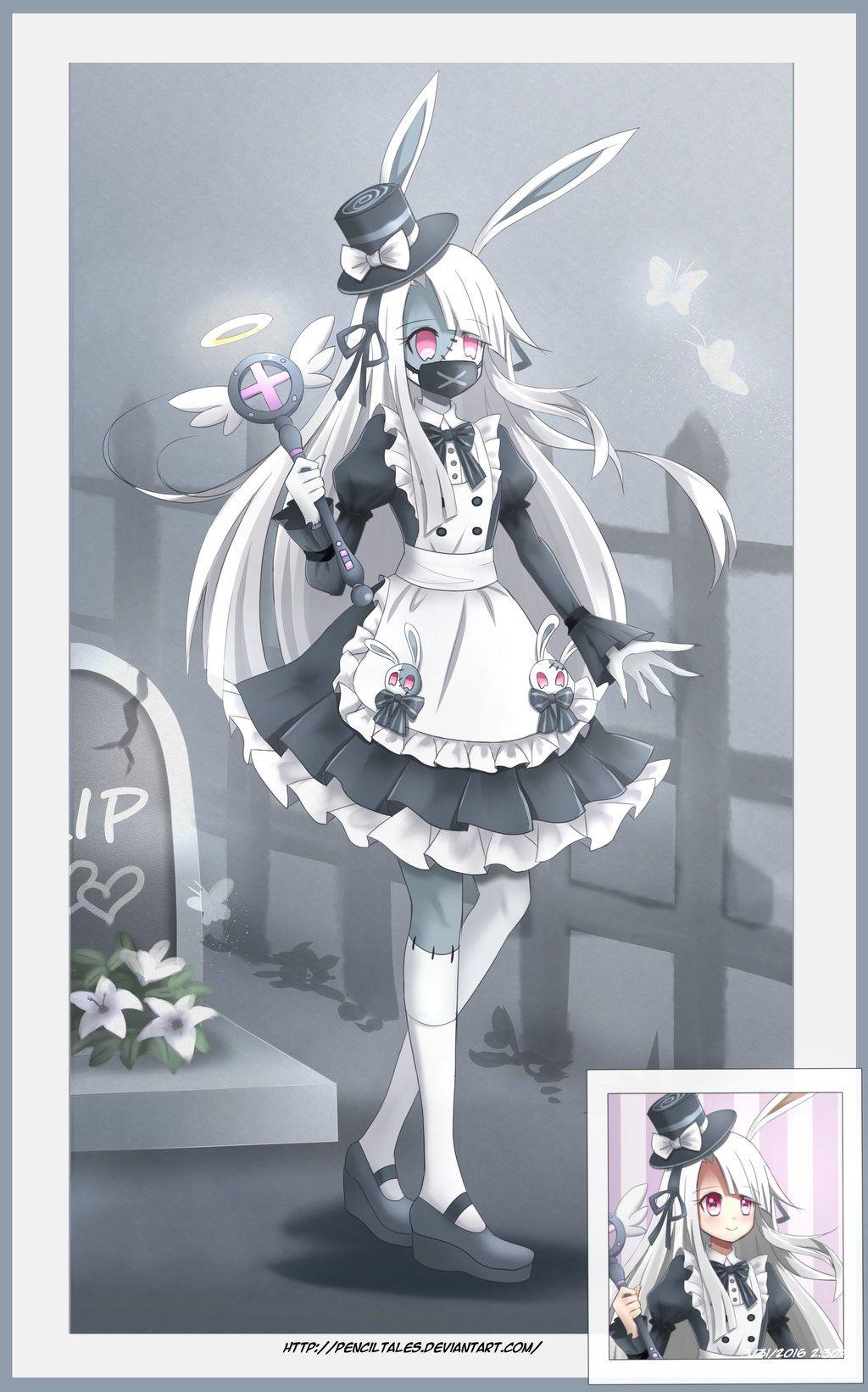 Ami The Dark Magical Girl Zombie Hunter Magical Girl Apocalypse Magical Girl Zombie Girl
