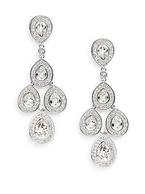 e8758116f Women's Sensation Swarovski Crystal Chandelier Earrings (Limited Discount  Savings)