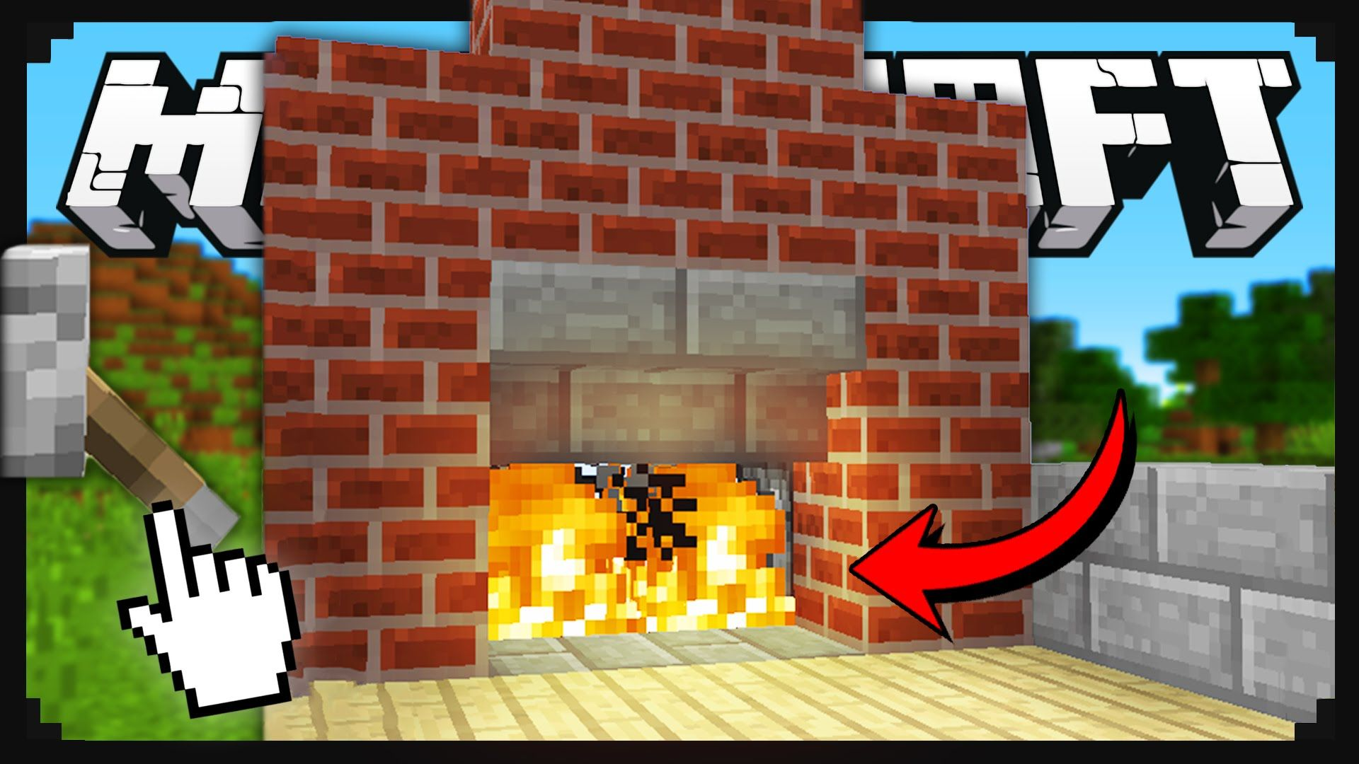 Minecraft: How To Build A Secret Fireplace Entrance ...