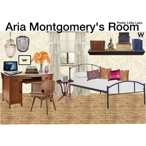 Inspired By Aria Montgomery's (Lucy Hale) Bedroom On