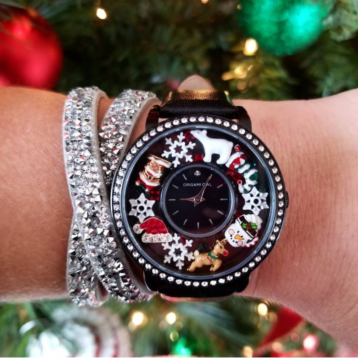 Origami Owl - I love this Holiday look, so festive! www ...