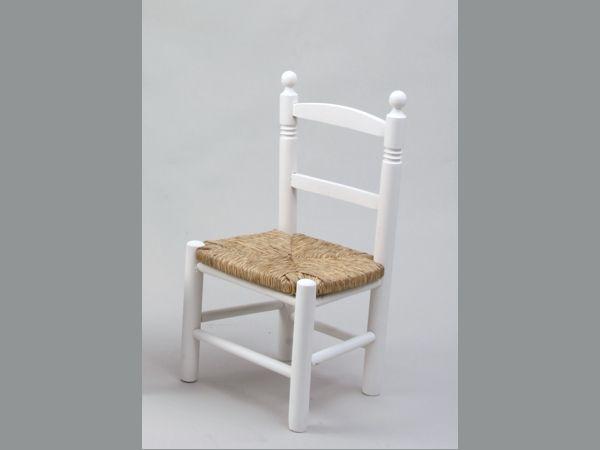 silla blanca lacada como forrar asiento