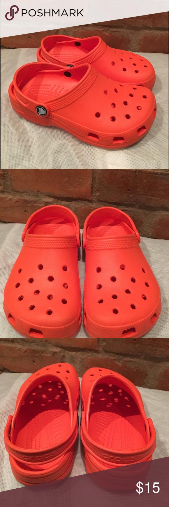 Crocs Kids size 2 girls size 4 These