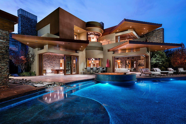 Best Kitchen Gallery: Luxury Estate 59 Promontory Ridge Las Vegas Nv 89135 Atlantic of Dream House In Houston Ems on rachelxblog.com