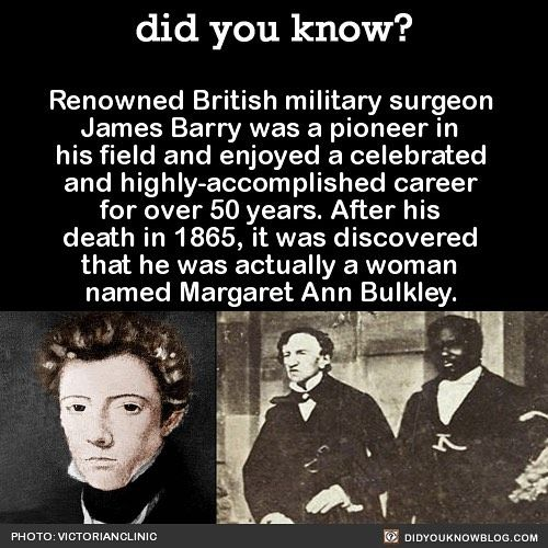 Wow! Kept that secret to the grave! #wow #suprise #history #medicine #surgery   Share the helpful knowledge! Tag your … | History facts, Fun facts, Historical facts