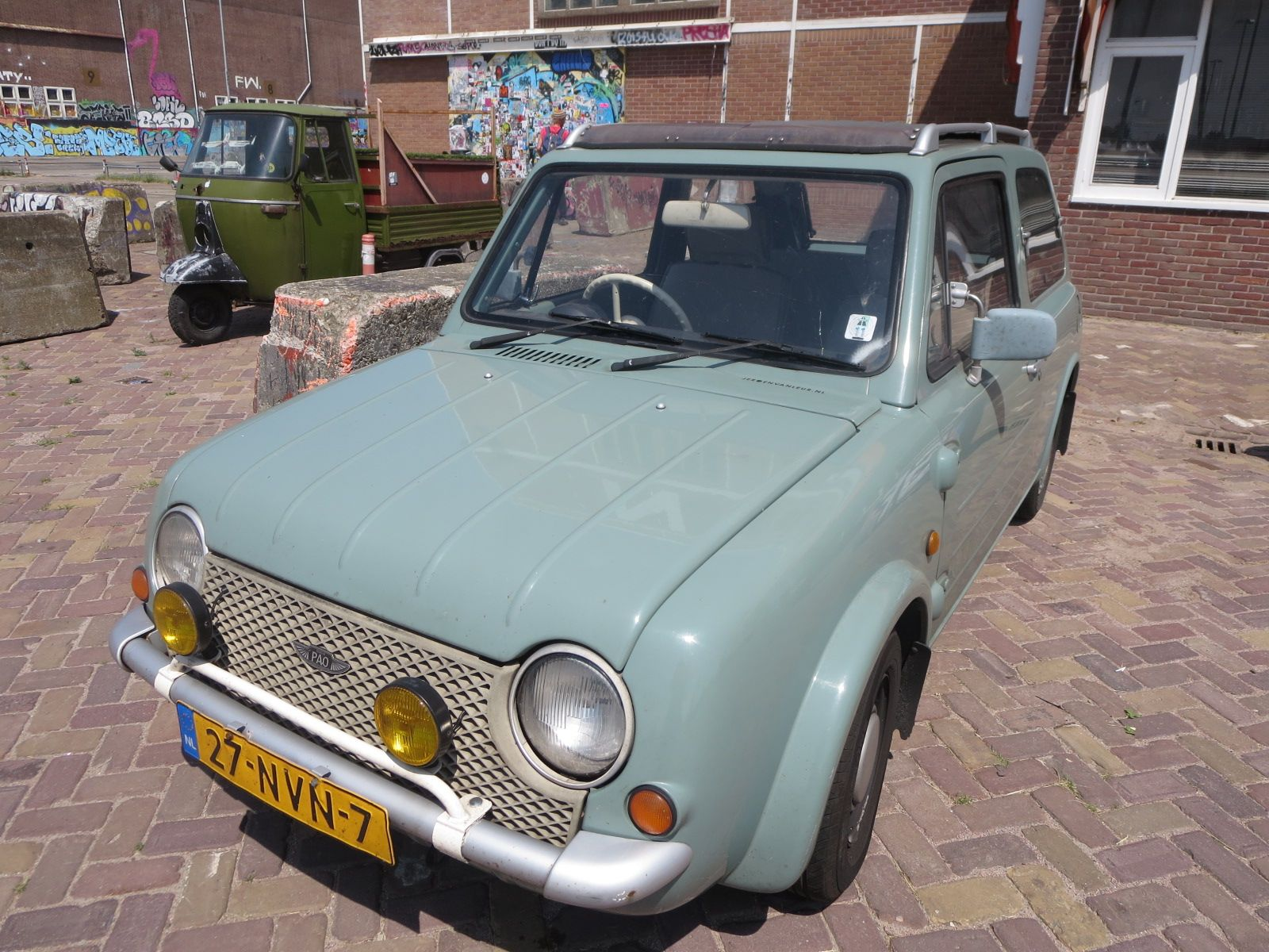 Nissan Pao Special Cars Vans And Vehikels 乗り物