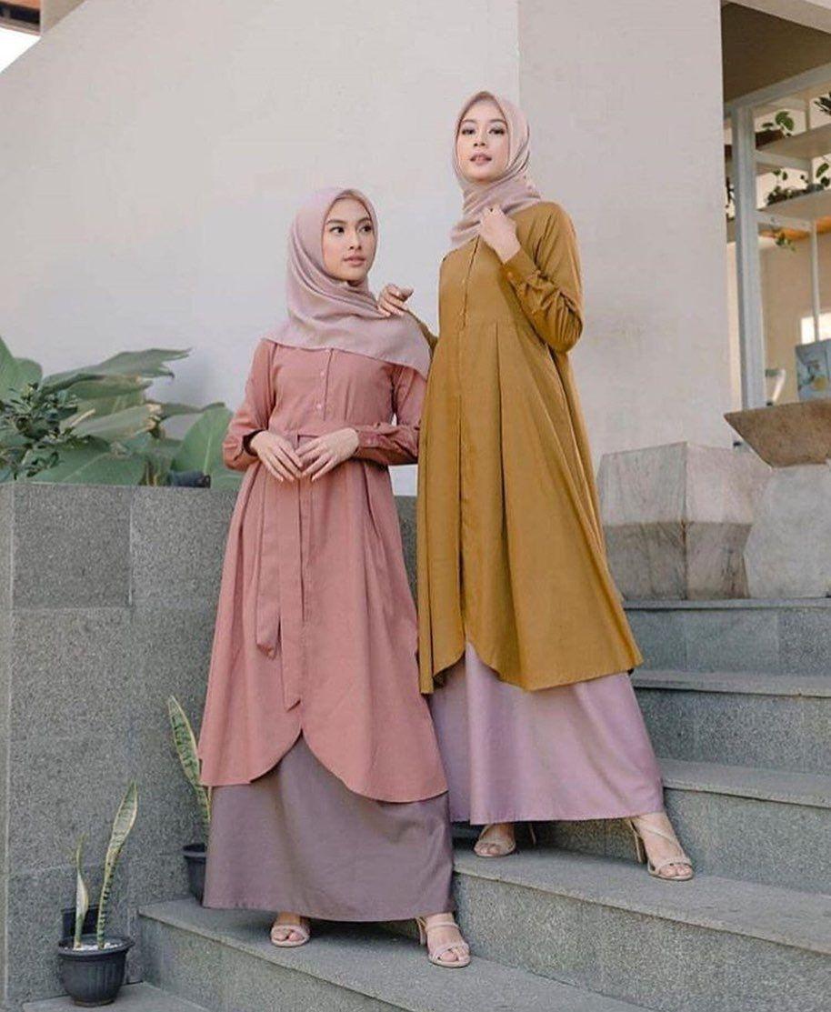 Warna Jilbab Yg Cocok Untuk Baju Warna Mustard