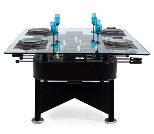 Dining Table From Rs Barcelona Dining Table Top Foosball