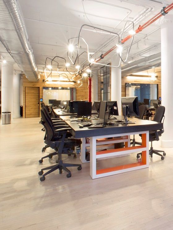 Union Square Office Designed By Nate Berkus Interiors.