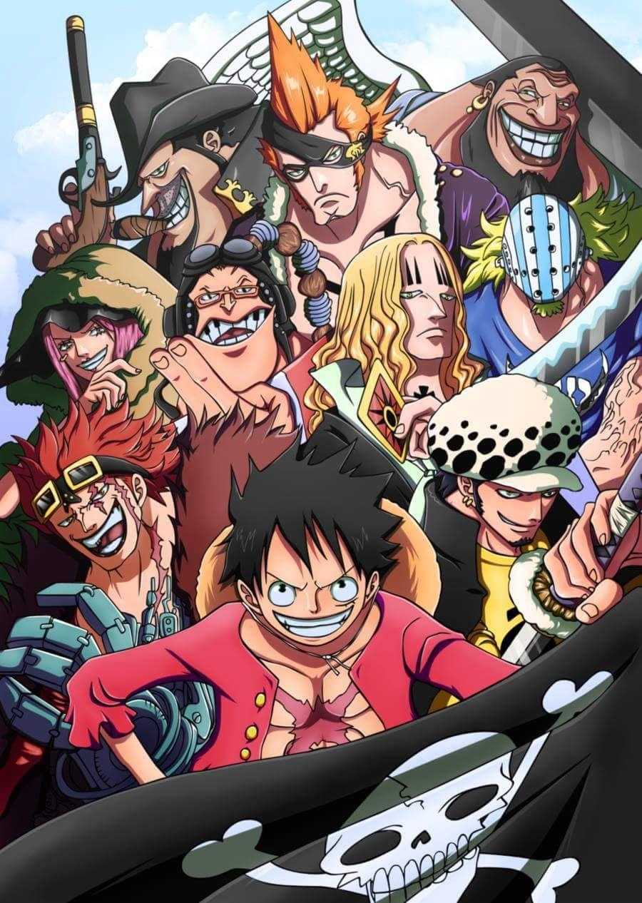 The Worst Generation Manga One Piece Manga Anime Anime