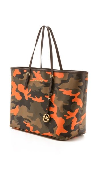 5095fa45346a96 Michael Kors camo print travel tote rstyle.me/... | Street Styles in ...