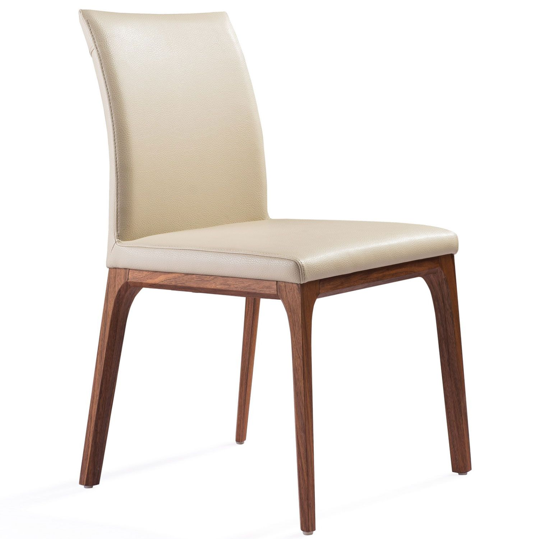 Whiteline Modern Living Dc1454 Wlt Tau Stella Dining Chair Taupe