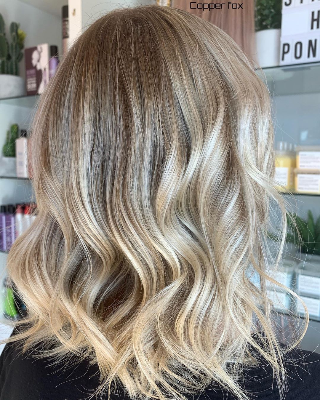 Highlights Lowlights Root Shadow By Stylist Britten Britten Is On Holidays At The Moment But She Wi Highlights And Lowlights Long Hair Styles Stylists