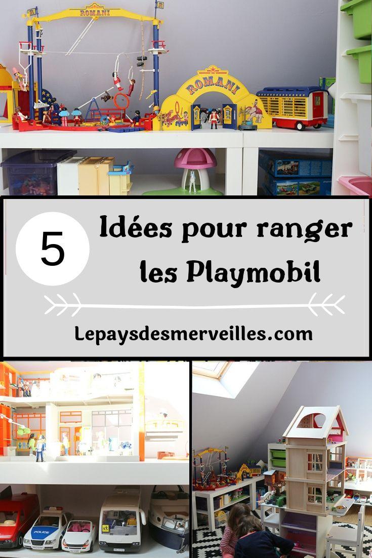 Rangement des Playmobil : 5 idées pour résoudre ce casse-tête