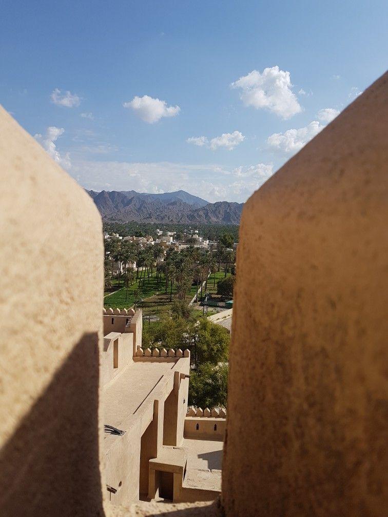 A View From Al Rustaq Fort Natural Landmarks Views Landmarks