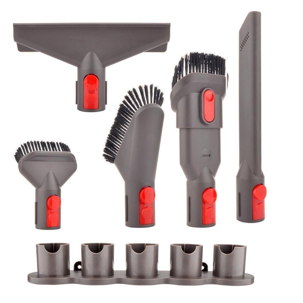 5 In1 Vacuum Cleaner Holder Storage Rack For Dyson V7 V8 V10 Absolute Brush Tool Handheld Vacuum Cleaner Dyson Vacuum Cleaner Vacuum Cleaner Accessories