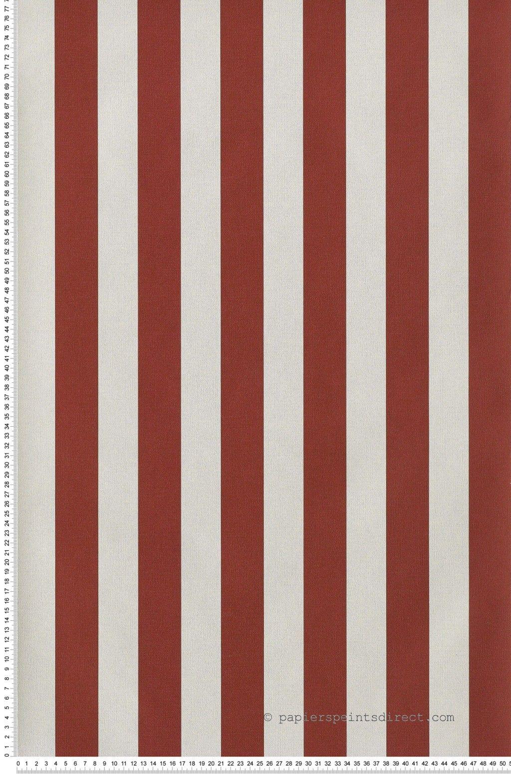 rayures papier peint rayure bicolore rouge carmi fr gate papier peint rayures et. Black Bedroom Furniture Sets. Home Design Ideas