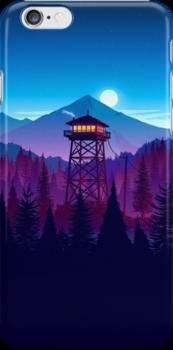 Firewatch - Landscape iPhone Case & Cover