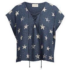 Lace-Up Cotton Sweater - Denim & Supply  Scoop, Crew & Boatnecks - RalphLauren.com