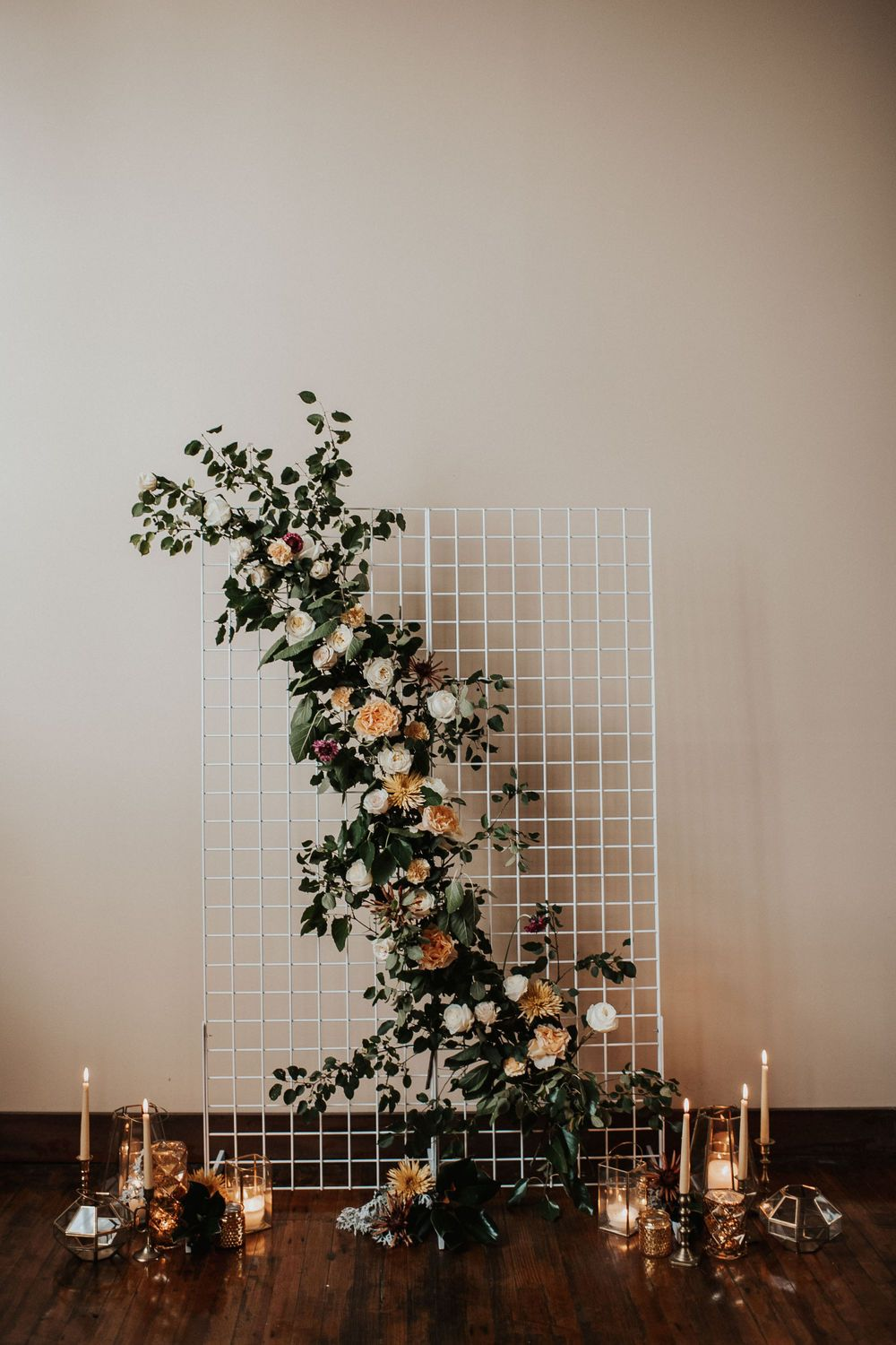 Earthy Industrial Wedding Inspiration with Romantic Moody Hues
