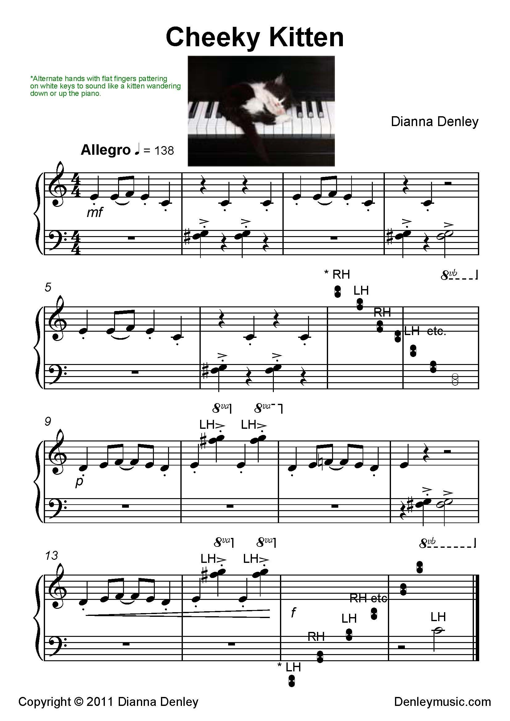 Denley Music Free Music Materials Designed For Teacher Student And Personal Use Piano Music Teaching Music Piano Sheet Music