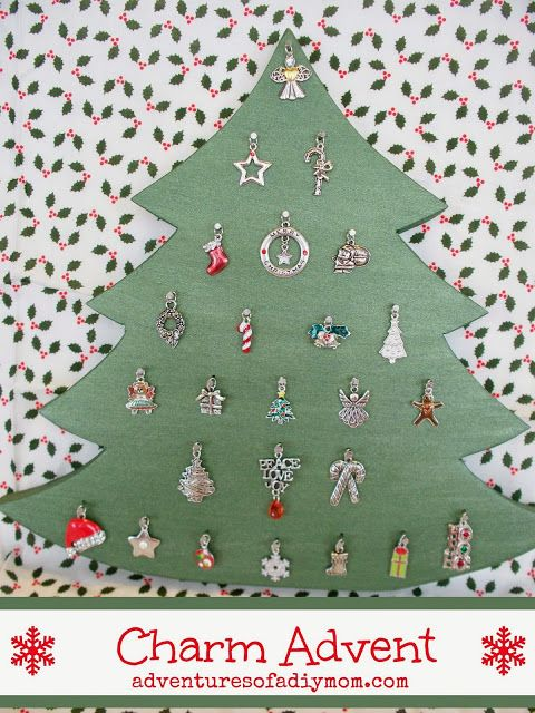 Christmas Charm Advent Tree Advent calendars, Calendar ideas and