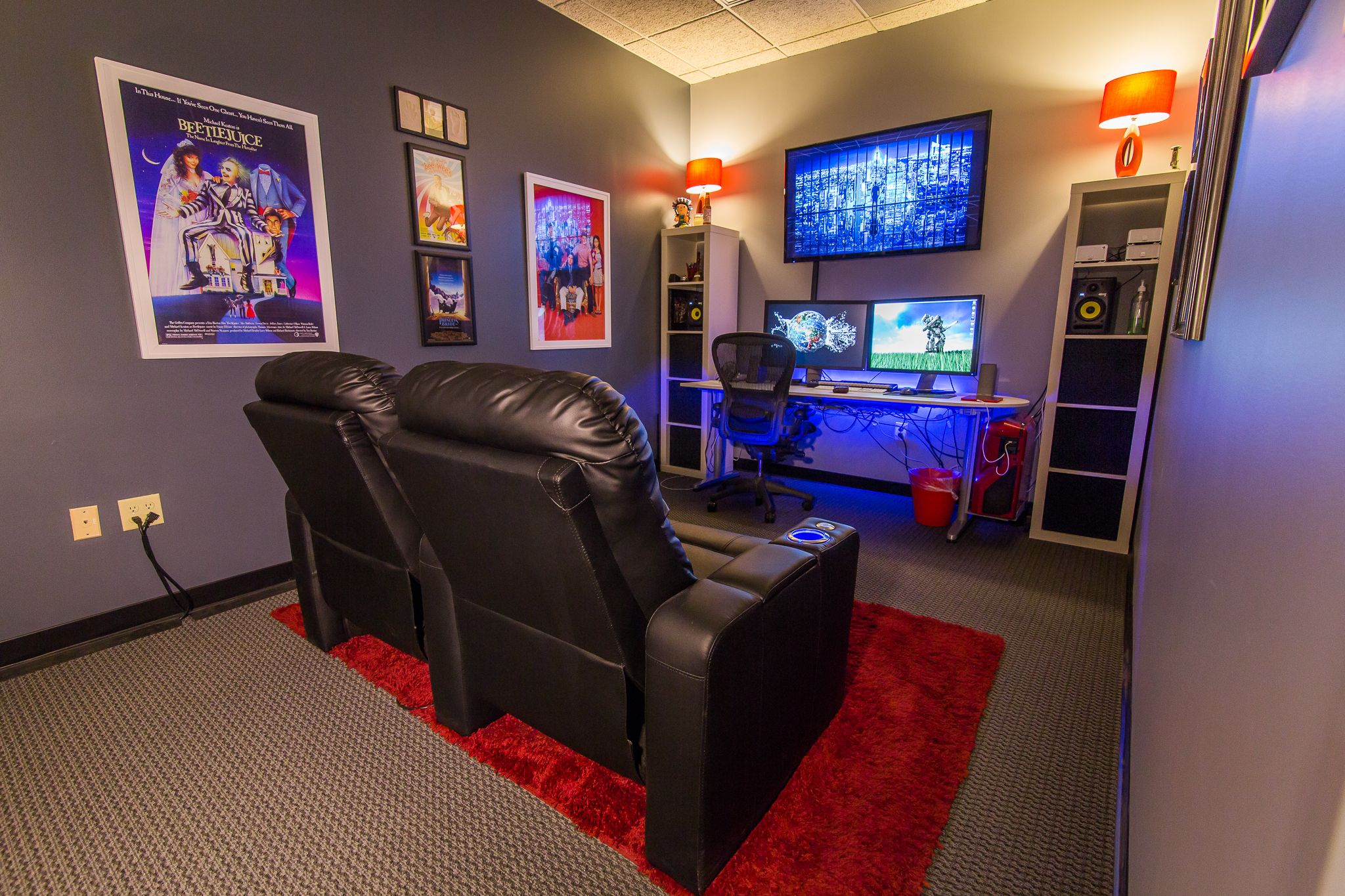Jay S Office Ecgprod Video Game Rooms Game Room Design